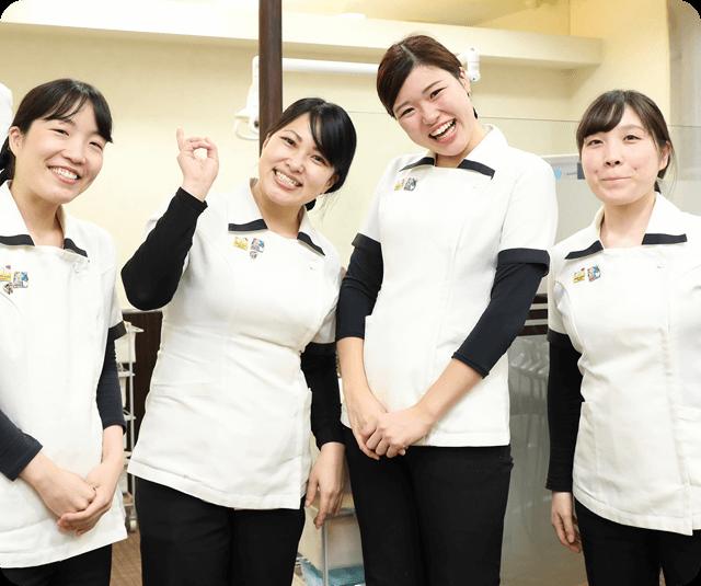 勤務するチームメンバーにやりがい、生きがいが生まれる歯科医院