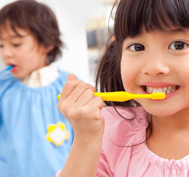 子どもの歯を守るカムカムクラブ