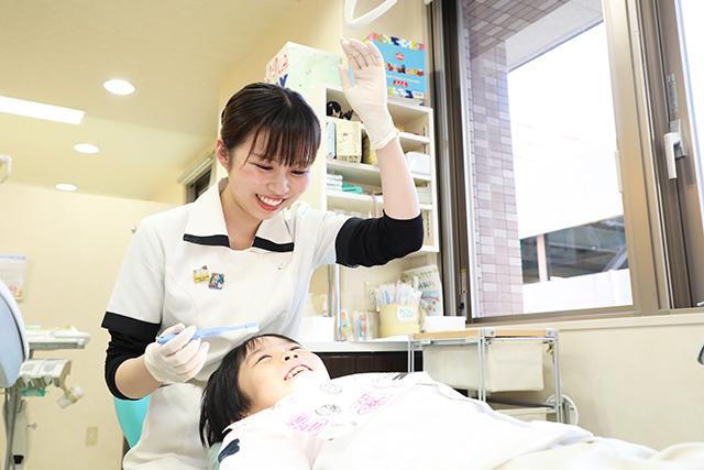 上本町ヒルズ歯科クリニック小児歯科の特徴